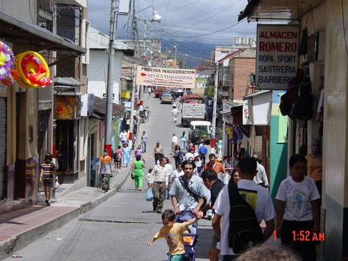 Village outside Bogota